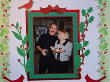 Christmas Scrapbook Album 3