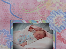 Baby Girl Scrapbook Album 2