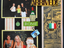 Travel Scrapbook 3 – Med. Cruise, Rome