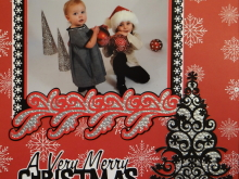 Christmas Scrapbook Album 2