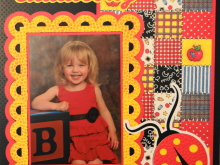 Everyday Life Scrapbook 20 – Fall & School