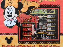Travel Scrapbook 22 – Downtown Disney Scrapbook