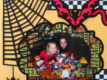 Halloween Scrapbook 3 – with Fall & Thanksgiving
