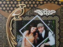 Wedding Scrapbook 7 – Engagement & Reveal