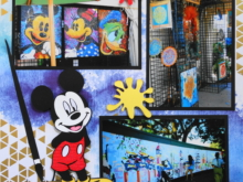 Travel Scrapbook 32A – Disney Epcot