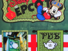 Travel Scrapbook 32B – Disney Epcot