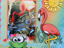 Travel Scrapbook 36 – Flamingo Gardens, Florida