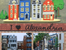 Travel Scrapbook 39 – Alexandria & Mount Vernon, VA